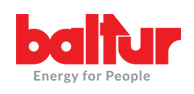 Baltur-Energy for people Logo