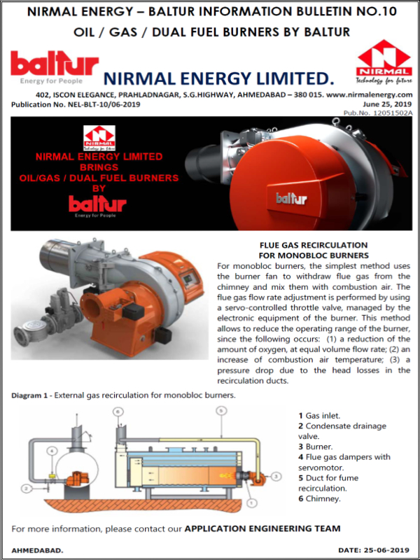 Nirmal Energy Limited-Baltur Information Bulletin